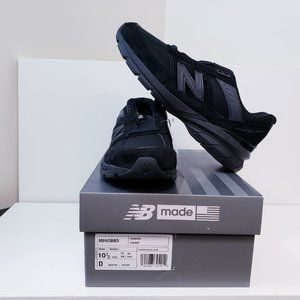 New Balance Men's 990v5 Made in US All Black